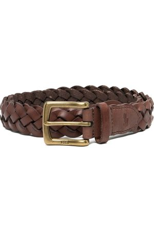 Polo Ralph Lauren Men Belts - Vegan leather braided belt