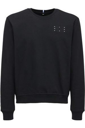 McQ Core Logo Crewneck Cotton Sweatshirt