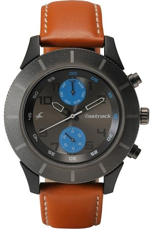 Fastrack Men Grey Analogue Watch 3182KL52