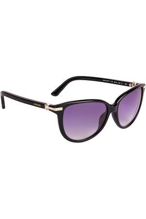 Swarovski Women Cateye Sunglasses SK0077 56 01W