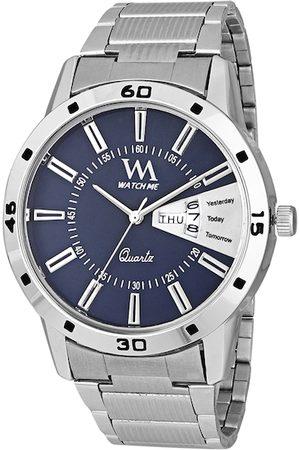 WM Men Blue Analogue Watch DD-008-BUktd1