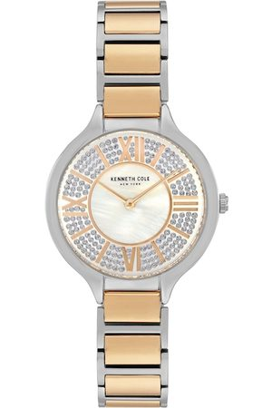 Kenneth Cole Women Silver-Toned Analogue Watch KC51011003LD