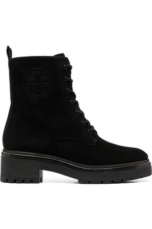 Tory Burch Women Lace-up Boots - Lace-up leather boots