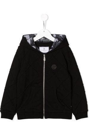 Philipp Plein Zip front hoodie