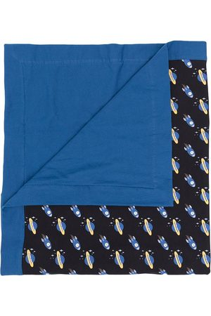 Emporio Armani Baby Changing Bags - Space-print baby blanket