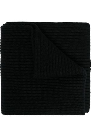 Dolce & Gabbana Men Scarves - Thick ribbed knit scarf