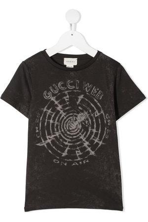 Gucci Stonewash-graphic T-shirt