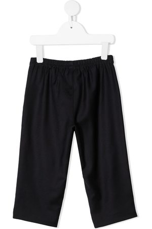 Gucci Baby Formal Trousers - Web stripe wool trousers