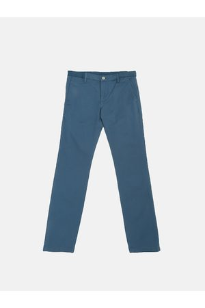 Levi's Men Blue 511 Slim Fit Solid Chinos
