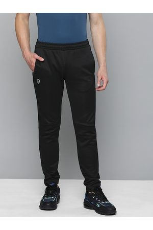 PUMA Men Black Slim Fit Solid Ferrari T7 Track Pants