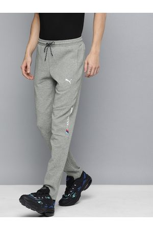 PUMA Men Grey Melange Solid BMW MMS Slim Fit Joggers