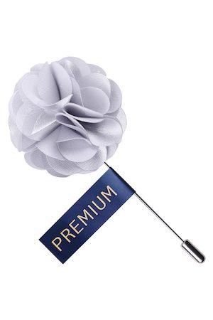 PELUCHE Men Unisex Floral Ornamental Treat Brooch Lapel Pin