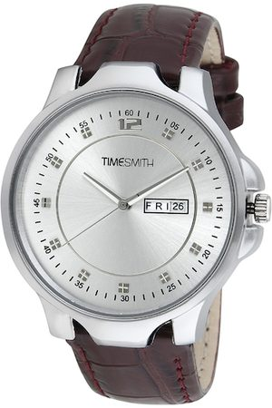 TIMESMITH Men Silver-Toned Analogue Watch TSC-027febs