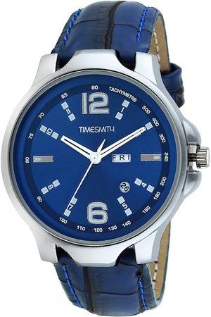 TIMESMITH Men Blue Analogue Watch TSC-035febs