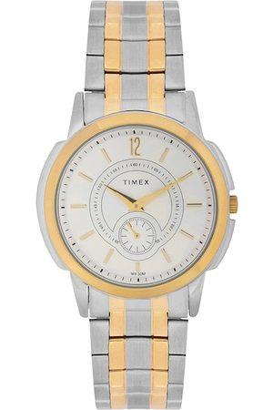 Timex Men Silver-Toned Analogue Watch TW000U306