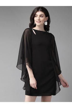 MISH Women Black Solid Kaftan Dress