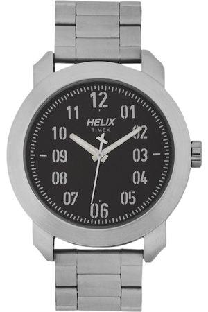 Helix Men Grey Analogue Watch TW036HG05
