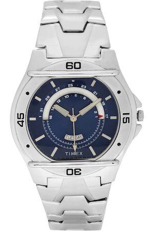 Timex Men Blue Analogue Watch TW000EL08