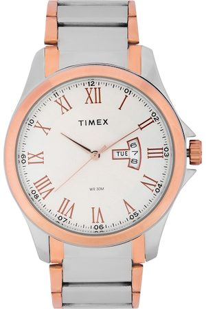 Timex Men Silver-Toned Analogue Watch TW000X109