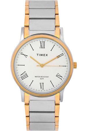 Timex Men Watches - Men White Analogue Watch TW000R432