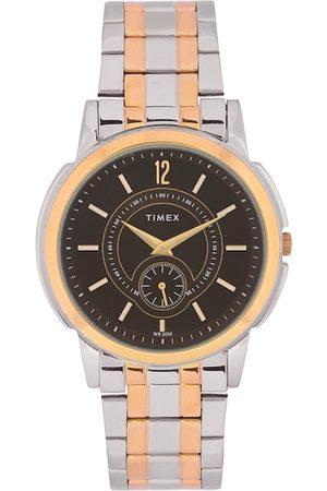 Timex Men Brown Analogue Watch TW000U307