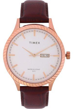 Timex Men White Analogue Watch
