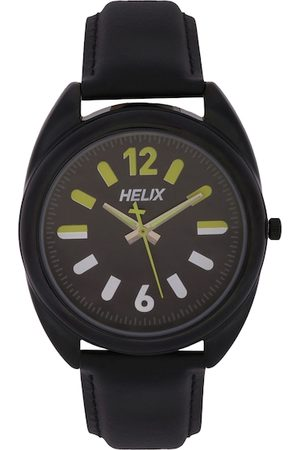 Helix Men Brown Analogue Watch TW038HG04