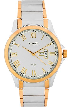 Timex Men Silver-Toned Analogue Watch TW000X111