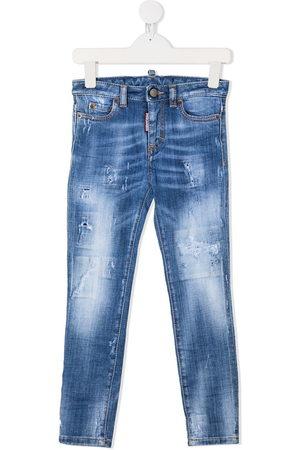 Dsquared2 Contrast stitch skinny jeans