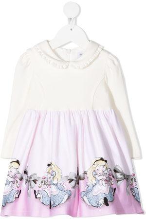 MONNALISA Baby Printed Dresses - Disney print skater dress