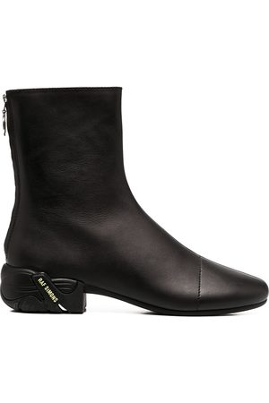 RAF SIMONS Runner zip-up ankle boots