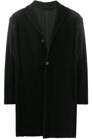 HOMME PLISSÉ ISSEY MIYAKE Basic single breasted coat