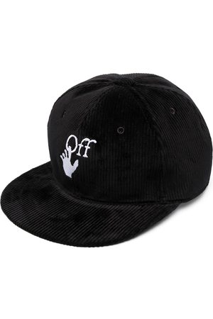 OFF-WHITE Embroidered-logo snapback cap