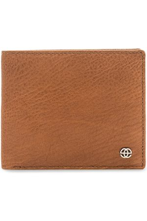Eske Men Tan Solid Two Fold Wallet