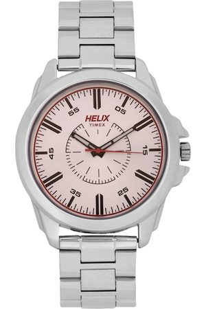 Helix Men Rose Gold-Toned Analogue Watch TW032HG03