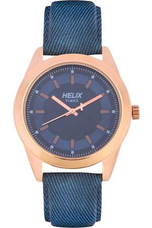 Helix Men Blue Analogue Watch TW031HG07