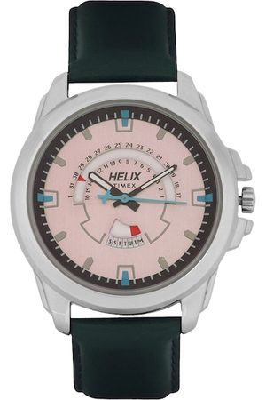 Helix Men Pink Analogue Watch TW032HG06