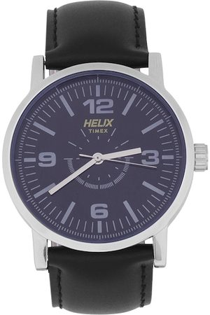 Helix Men Blue Analogue Watch TW035HG01