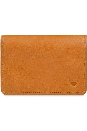 Hidesign Men Tan Brown Textured Leather Two Fold Wallet