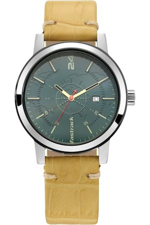 Fastrack Men Green Analogue Watch 3245SL01