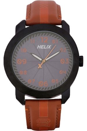 Helix Men Grey Analogue Watch TW036HG11