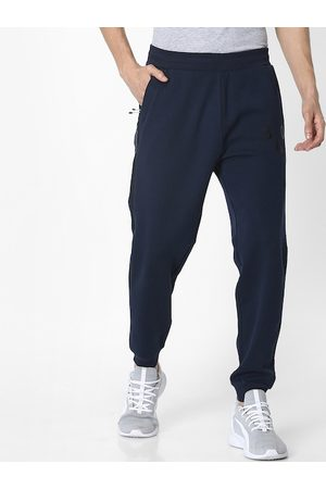 Celio Men Navy Blue Solid Joggers