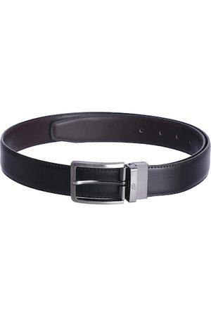 KARA Men Belts - Men Black & Brown Solid Reversible Belt