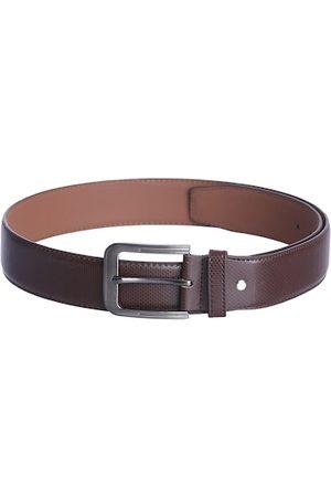 KARA Men Belts - Men Brown Textured Belt