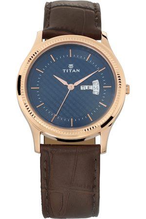 Titan Men Blue Analogue Watch NM1824WL01