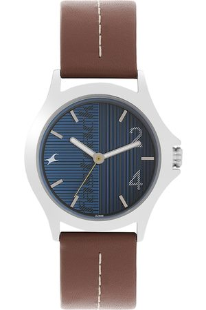 Fastrack Men Blue Analogue Watch NM3220SL01