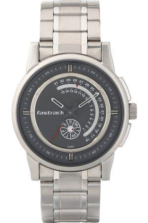 Fastrack Men Grey Analogue Watch 3215SM02