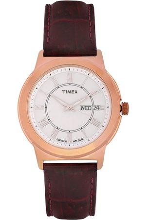 Timex Men Watches - Men White Analogue Watch TWEG18007