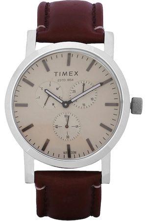 Timex Men Brown Analogue Watch