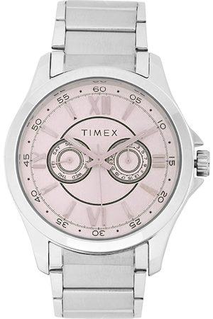 Timex Men Pink Analogue Watch